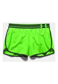 Short Under Armour Perfect Pace-Negro-Blanco