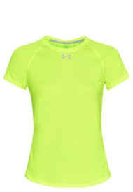 Polo Manga Corta Mujer Under Armour Qualifier Short Sleeve-Verde