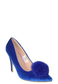 Tacones Stilettos Azul MAKERS Michi H