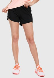Short Negro UNDER ARMOUR FlyBy 2.0 Mini 2N1