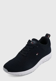 Tenis Azul Oscuro-Blanco Tommy Hilfiger