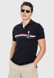 Polo Azul Navy Us Polo Assn