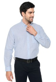 Camisa Azul-Blanco Us Polo Assn