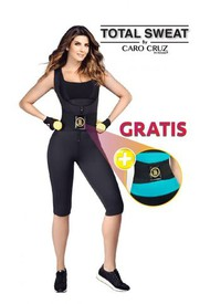FAJA ENTERIZO TOTAL SWEAT  + CINTURILLA  INSTANT TRAINING HOT SHAPERS BY CARO CRUZ
