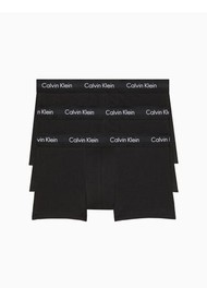 Trunk 3 Pack Low Rise Cotton Stretch Negro Calvin Klein