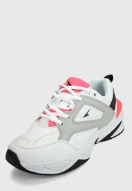Tenis Lifestyle Blanco-Rosa-Gris ATHLETIC