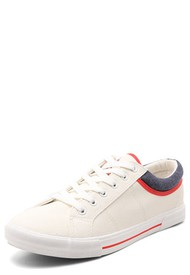 Tenis Lifestyle Blanco-Rojo-Azul Royal County Of Berkshire Polo Club