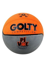 Balon Baloncesto Golty Competition Pivot No.6-Naranja