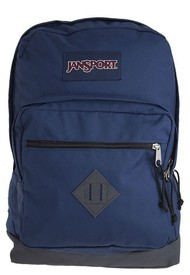 Morral Azul Navy-Negro-Gris Medio JanSport,