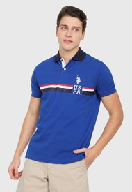 Polo Azul Royal-Blanco Us Polo Assn