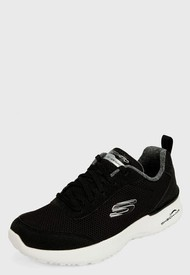 Tenis Training Negro-Blanco Skechers Air Dymanight